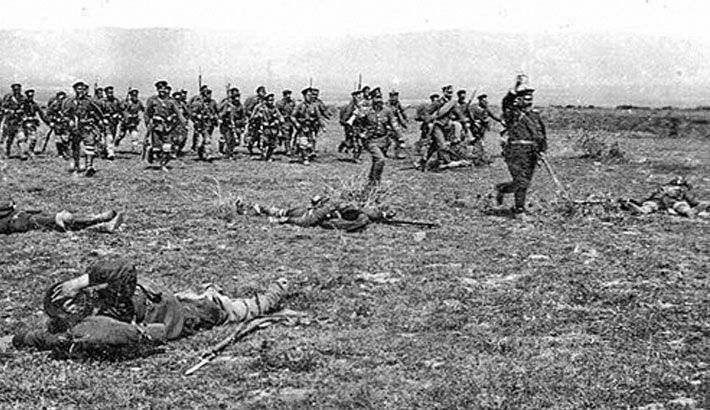 balkan warfare The balkan campaign of world war ii began with the italian invasion of greece on 28 october 1940 in the early months of 1941, italy's offensive had stalled and a greek counter-offensive pushed into albania.
