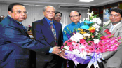 Union bank Congratulates Dr. Atiur Rahman