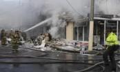 Small plane crashes into Bogota bakery, 4 killed