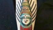 BJP men 'harass' Australian tourist for Hindu goddess tattoo