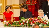 Kate Middleton is Royal in Red for State Dinner with China