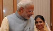 Prime Minister Narendra Modi meets Geeta