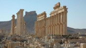 IS 'blows up Palmyra columns to kill three captives'
