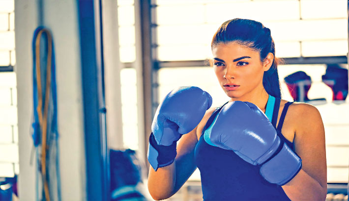 An At-Home Boxing Workout for Women