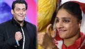 Salman Bajrangi Bhaijaan Khan welcomes Geeta