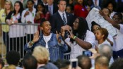 Black activists disrupt Clinton campaign rally