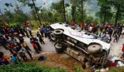 30 killed, 35 injured in Nepal bus accident