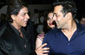 Shah Rukh Khan gets a birthday hug & wish from Salman Khan