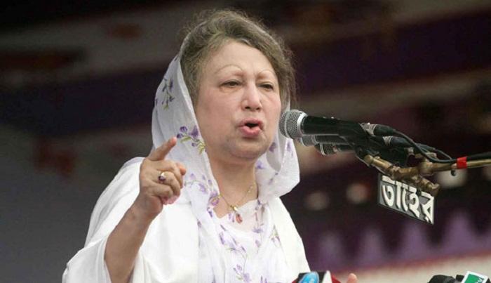 Khaleda urges govt for national dialogue