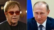 Elton John to meet Vladimir Putin in Moscow