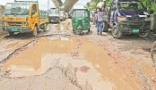 Substandard works blamed for miserable condition of city roads