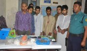 6 Shibir activists with explosives held in city