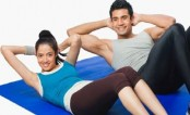 Light weight exercise increases bone density in adults