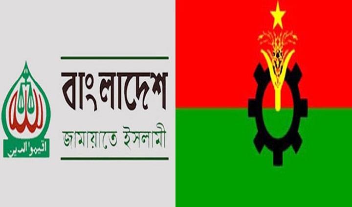 84 BNP, Jamaat-Shibir men among 159 held in 3 districts