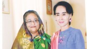 PM congratulates Suu Kyi over telephone