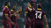 First win on tour helps West Indies level T20 series