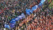 Thousands march in South Korean anti-government protest