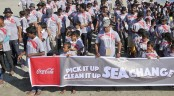 Coca-Cola and 400 volunteers help clean up St. Martin's seashore