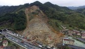 China landslide: Search for survivors continues as death toll reaches 25
