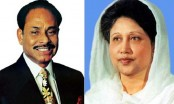 Khaleda to be arrested on her return: Ershad