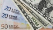 Dollar hits 7-month high against euro
