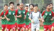 Bangladesh Football team leaves for China