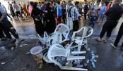Suicide blast, bombing strike Baghdad Shiite mosque, kill 10