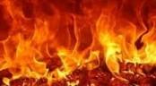 City slum catches fire
