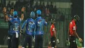 Dhaka Dynamites defeats Comilla Victorians