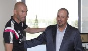 Zidane not looking to replace Benitez as Real Madrid boss