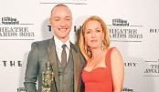 Nicole Kidman, James McAvoy win big at Theatre Awards