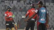 Victorians get easy 8 wkts win against Barisal Bulls