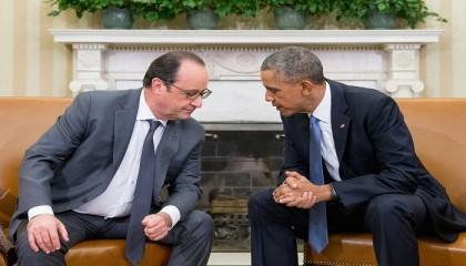 Obama and Hollande pledge solidarity against Islamic State