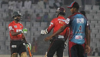 Victorians get easy 8 wkts win against Barisal Bulls
