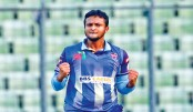 Shakib's guile blows Dhaka Dynamites away