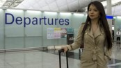 Canadian Miss World 'barred from China flight'