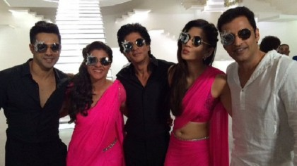 Shah Rukh in black, Kajol in pink: what to expect from next Dilwale song