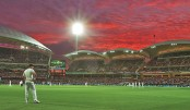 Day-night Test finally makes debut