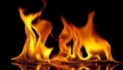 Fire at Nurjahan Market in city