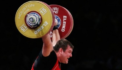 Weightlifting: Russia's Lovchev breaks world records at Houston