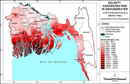Bangladesh experiencing adverse impacts of climate change