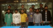 6 'militants' placed on 6-day remand