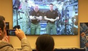 US astronauts testify from Space Station