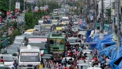 Traffic gridlock grips Narayanganj city