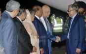 President returns home from Singapore