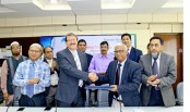 Premier Bank signs agreement with DWASA