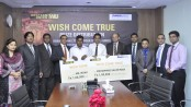 "Western Union and Dhaka Bank work for ""Wish come true""."