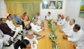 Khaleda sits with party policymakers
