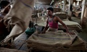 60 lakh jute sacks lying unsold in 8 Khulna jute mills