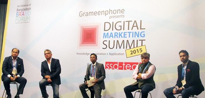 Grameenphone digital marketing summit 2015 held in city